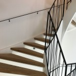 Vridet trappräcke