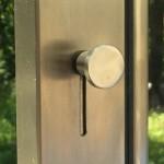 Snyggt dörrlås