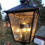 Avskärmning i lampa