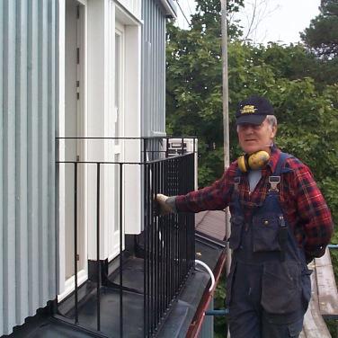 Rolle har monterat ett staket