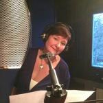 Annette sjunger i studion!