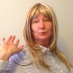 Anette har blivit blondin