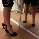 Niclas provar sina skor