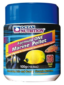 Formula One marine small pellets