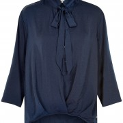 comma blouse navy