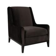DORSET Armchair dark brown
