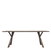 TREE Diningtable silver back