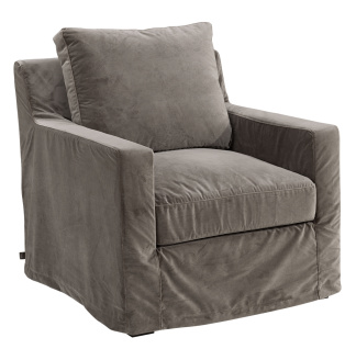 GUILFORD Armchair dark - GUILFORD Armchair taupe