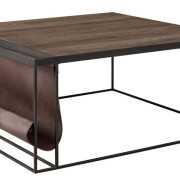 MAGAZINE BLACK Coffee table