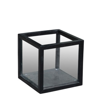LANTERN BLACK Square Small - LANTERN BLACK Square Small