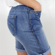 DEANA JEANS SHORTS BLUE DENIM