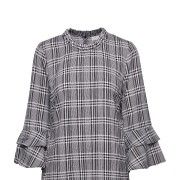 Debbie Checked Blouse