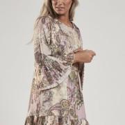 Mönstrad klänning IT1052