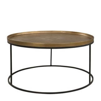 FABIO Coffee table (2 colors) - FABIO Coffee table Brass