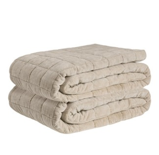 POSH BEIGE Bedspread - POSH BEIGE Bedspread