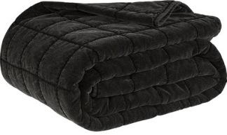 POSH BLACK Bedspread - POSH BLACK Bedspread