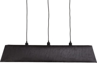 CANYON Ceiling lamp (3 colours) - CANYON Ceiling lamp Leather black