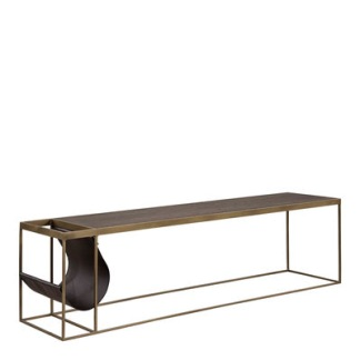 MAGAZINE COPPER Coffee table / Media bench - MAGAZINE COPPER Coffee table / Media bench