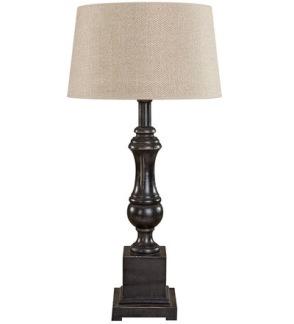VENICE Table lamp (2 colours) - VENICE Table lamp Black wood