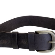 LEATHER STRAP with buckle