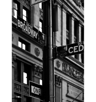 BROADWAY SIGN GN6104 - BROADWAY SIGN GN6104