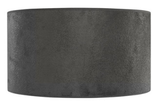 SHADE CYLINDER Grey suede - SHADE CYLINDER Grey suede 25 x h 15