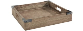 THE BAKERY TRAY Vintage ( 2 size ) - THE BAKERY TRAY Vintage  w 30 x d 25 x h 6 cm