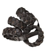 NAPKIN RING Woven leather