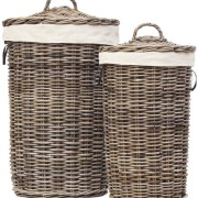 LAUNDRY BASKET Kubu Grey