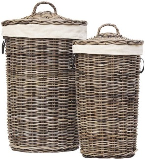 LAUNDRY BASKET Kubu Grey - LAUNDRY BASKET Kubu Grey