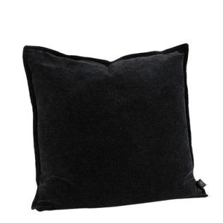 KELLY PLAIN BLACK Cushioncover (2 sizes) - KELLY PLAIN BLACK 50*50