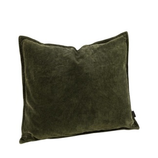 KELLY PLAIN FOREST Cushioncover - KELLY PLAIN FOREST 50*50