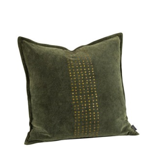 KELLY STUDS FOREST Cushioncover - KELLY STUDS FOREST 50*50