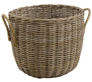 STORAGE WITH HEMP HANDLES Basket - STORAGE WITH HEMP HANDLES Basket