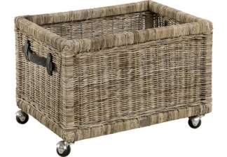 STORAGE Basket on wheels - STORAGE Basket on wheels