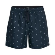 Swim Short Print Swim Navy