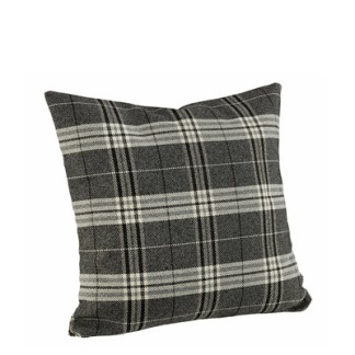 WEASLY CHECK BLACK Cushioncover - WEASLY CHECK BLACK 50*50