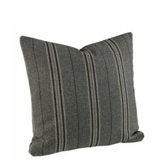 WEASLY STRIPE BLACK Cushioncover - WEASLY STRIPE BLACK 50*50