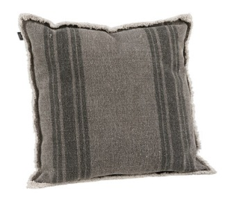 MENTON Grey Cushioncover - MENTON Grey 50*50
