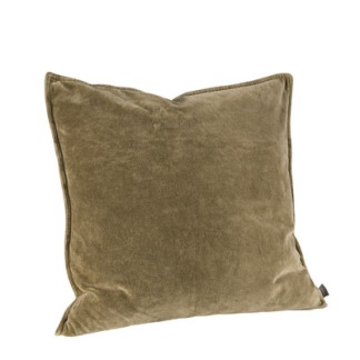 KELLY PLAIN OLIVE Cushioncover - KELLY PLAIN OLIVE 50*50