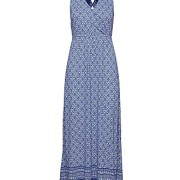 Georgia long dress Blue