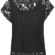 Vivi Lace Blouse svart