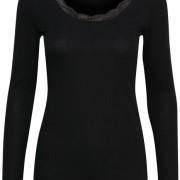 Vanessa L/S T-shirt svart
