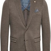 George Jersey Brown Suit