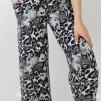 CALLIE PANTS SAND/BLACK ANIMAL PRINT - CALLIE PANTS XL