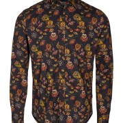 Shirt - Tyler LS BU AOP Black