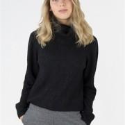 Siri Sweater Black Melange