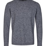 Knit - Finch O-neck Navy