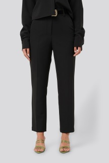 Tailored Cropped Suit Pants - Tailored Cropped SuitPants 36