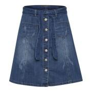 AlmaCR Denim Skirt